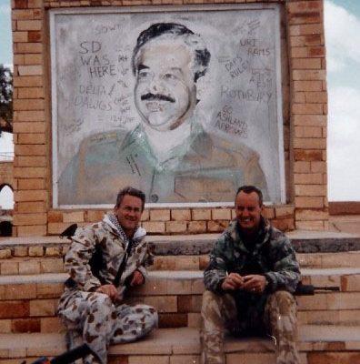 reg and Jim Iraq